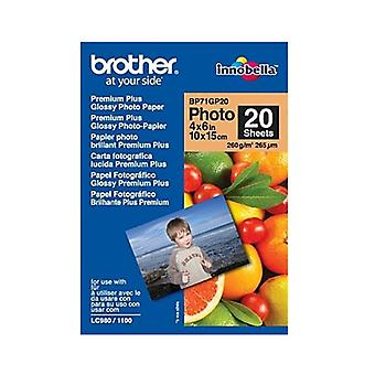 Brother Premium Plus Glossy Photo Paper Pack