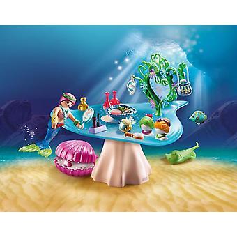 Playmobil magic beauty salon with jewel case
