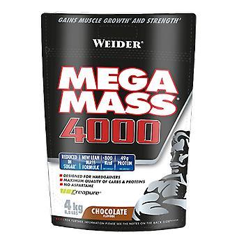 Weider Mega Mass 4000 Bag ny formula 4 kg