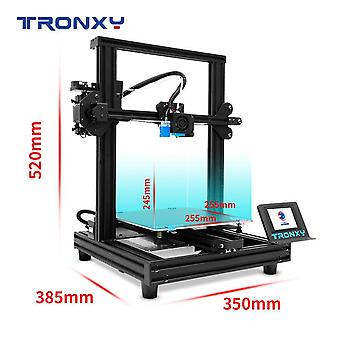 New upgraded tronxy xy-2 pro fast assembly 3d printer auto leveling continuation print power filament sensor 3.5''touch screen