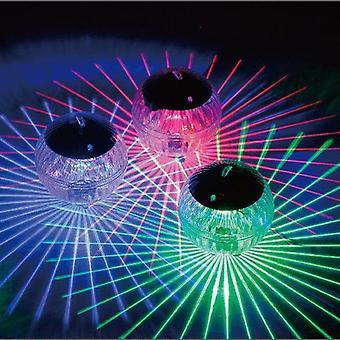 Solar Floating Light, Waterproof Color Changing Garden Pool Light