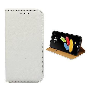 Colorfone LG Stylus 2 / Stylus 2 Plus billetera (blanco)