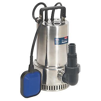 Sealey Wps250A dykkede rustfrit vandpumpe automatisk 250Ltr/Min 230V