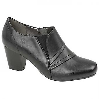 Boulevard Kayla Ladies Ankle Boots Black