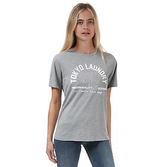 Women's Tokyo Laundry Madelyn T-Shirt in Grey