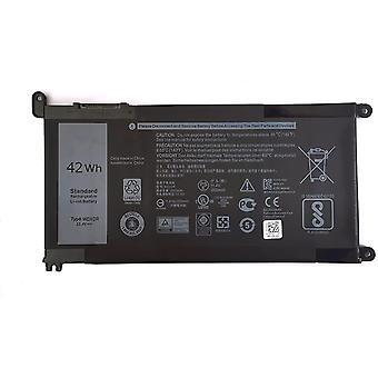 FengChun 11.4V 42Wh WDX0R Ersatz Akku Batterie für Dell Inspiron Inspiron 15 5368 5378 5379 5565