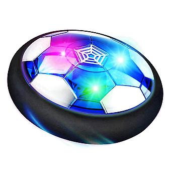 Air Power Floating Football Toy With Flashing Lights For Children Indoor Game