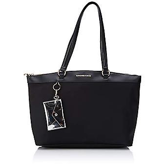 Mandarin Duck Bijou, Dames Crossbody Bag, Zwart,, 10x10x10 cm (B x H x L)