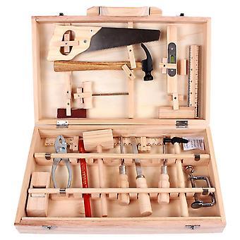 Multiuso Gestione manutenzione bambini Toolbox Smontaggio giocattolo Carpenter Box Ragazzo di legno