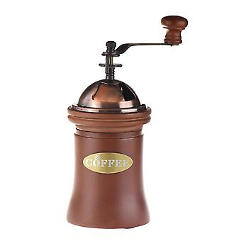 Ecocoffee Vintage Style Wooden Coffee Grinder