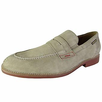 Mephisto Mens Orson Apron Toe Penny Loafers Shoes