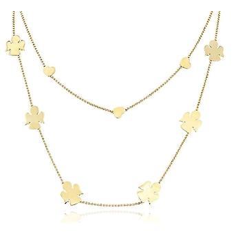 Amen angeli cuori doppia necklace cl2ahg