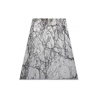 Modern NOBLE vloerkleed 9962 65 Marmer, steen - structureel twee niveaus van fleece crème / grijs