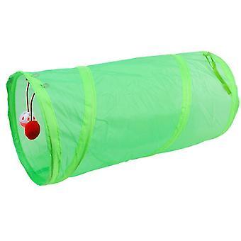 الأخضر للطي قناة القط قناتين، القط رنين ورقة لعبة القط مضحك دعوى az19794