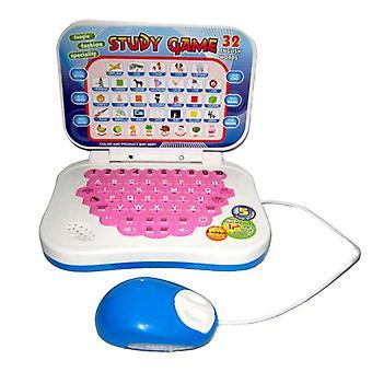 Machine d'apprentissage pour bébé avec souris ordinateur préscolaire Étude d'apprentissage précoce
