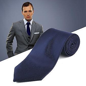 Módní pánské pevné krk party svatební kravata kravata kravata Hanky manžetový knoflíček set