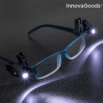InnovaGoods 360º LED Lunettes Clip (Pack de 2)