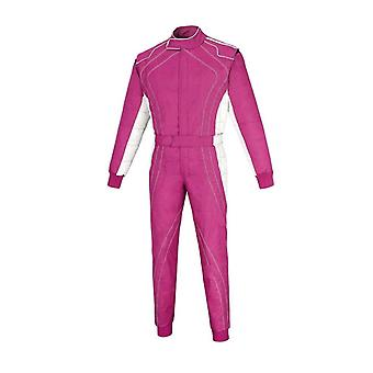 Karting suit in pink pw76-01