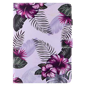 Case For Ipad Pro 11 Inch 2020  Cover Auto Sleep/wake Rotating Multi-angle Viewing Folio Stand - Purple Flower