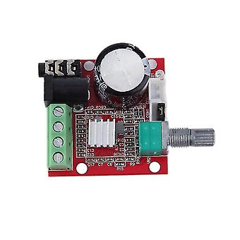 2 * 10w Dual Channel Hi Fi Pam8610 Mini Versterker Board 12v voor computer audio