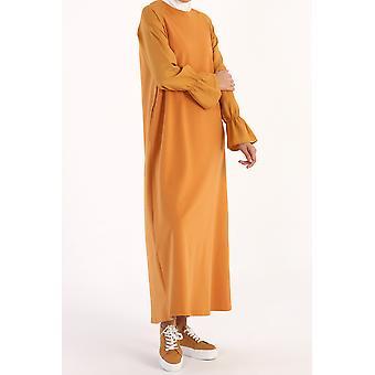Poet Sleeve Long Dress