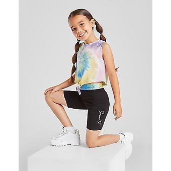 New Sonneti Girls' Mini Rainbow Tank/Cycle Shorts Set from JD Outlet Red