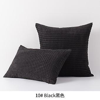 Corn vakosametti sohva muhkea tyynyliina ilman tyynynyydintä, useita kokoja kangas kotisängyn niskatuki