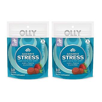 Olly Goodbye Stress Gummies - Berry Verbena 2 Pack