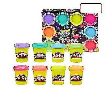 Rainbow 8-color Children's Plasticine Diy Creative Handmade Toy Set(COLOR2)