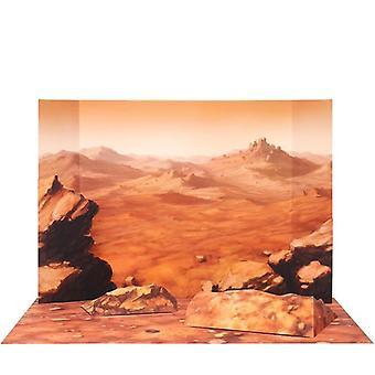 Space Mars Rover 3d paperi malli