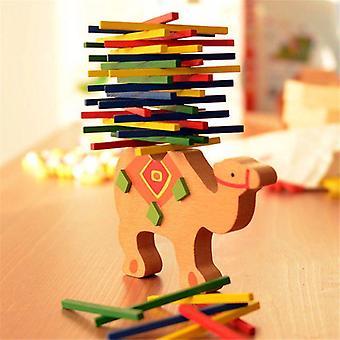 Educational Camel Balancing Wooden Blocks