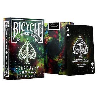 Bicycle Stargazer Playing CardsSpace Galaxy Deck Poker Size Magic Card Games Magic Trick