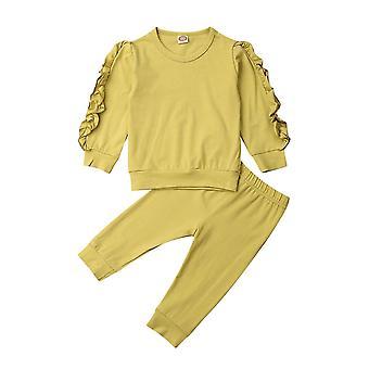 Baby Sleep Clothes Long Sleeve Sweatshirt T Shirt Pants