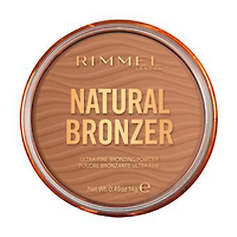 Compact Bronzing Powders Natural Rimmel London Nº 002 Sunbronze (14 g)