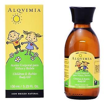 Kroppsolja för barn och spädbarn Alqvimia (150 ml)