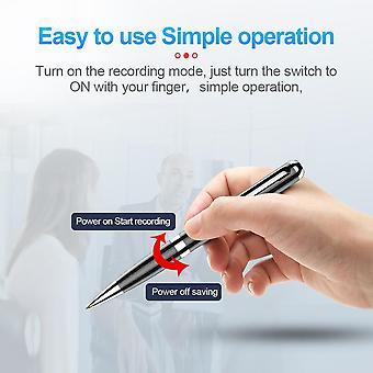 64GB digitální hlasový pero rekordér Metal Professional Redukce šumu ve vysokém rozlišení