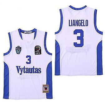 Pánsky basketbalový dres Vytautas 3 športové košele Liangelo Šitá veľkosť S-xxl
