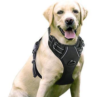 الكلب تسخير لا سحب الحيوانات الأليفة تسخير قابل للتعديل لينة مبطن سترة الكلب