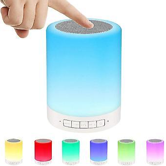 Belita Amy Ideal Atmosphere Night Light Pour Anniversaire / Saint-Valentin / Fête - Haut-parleur Bluetooth avec Veilleuse, Led Couleur Changeant Rgb Lampe - Gif