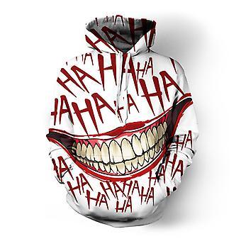 Personalisierte Joker 3d gedruckt Pullover Hoodie