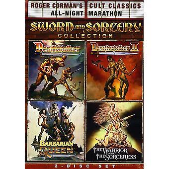 Roger Corman's Cult Classics sverd & trolldom Colle [DVD] USA import