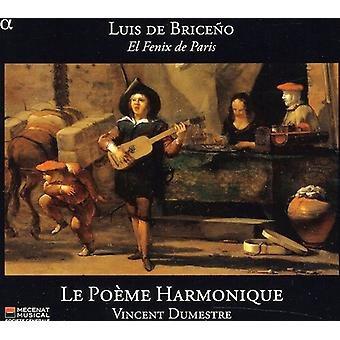 Briceno - Luis De Brice O: El Fenix De Paris [CD] USA import