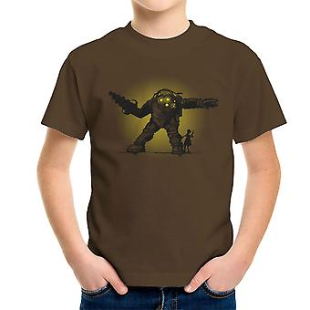 Pair Bond Big Daddy Little Sister BioShock Kid's T-Shirt