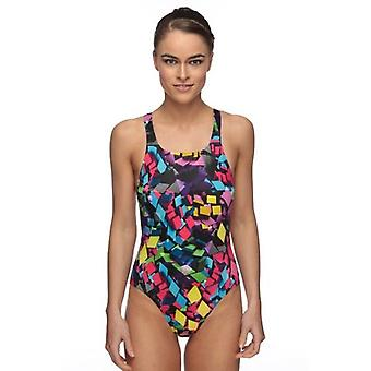 Maru Neon Diamond Pacer Womens Swim Suit - Vault Back