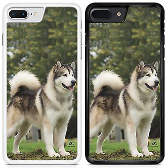 Husky Custom Designed Printed Phone Case For Samsung Galaxy S8 / hky10 / White