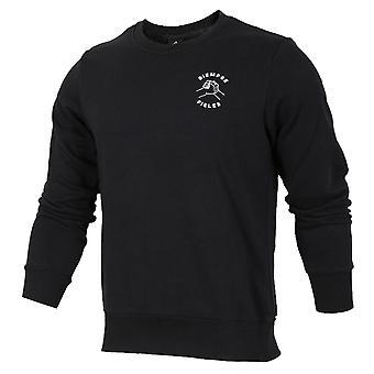 2018-2019 Spanje Adidas afbeelding Crew Sweatshirt (zwart)