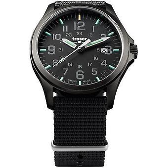 Traser H3 watch P67 officer pro GunMetal 107422