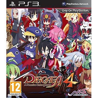 Disgaea 4 A belofte Onvergede (PS3)-nieuw