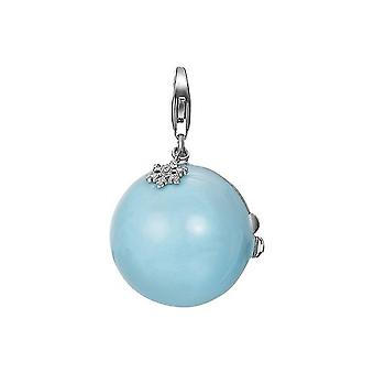 ESPRIT pendant of charms silver Christmas ball ESCH91113A000