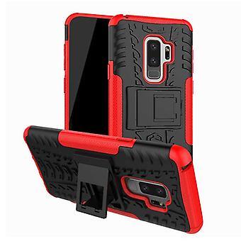 Pedaço de caso 2 híbrido vermelho exterior de SWL para Samsung Galaxy S9 plus G965F tampa do saco